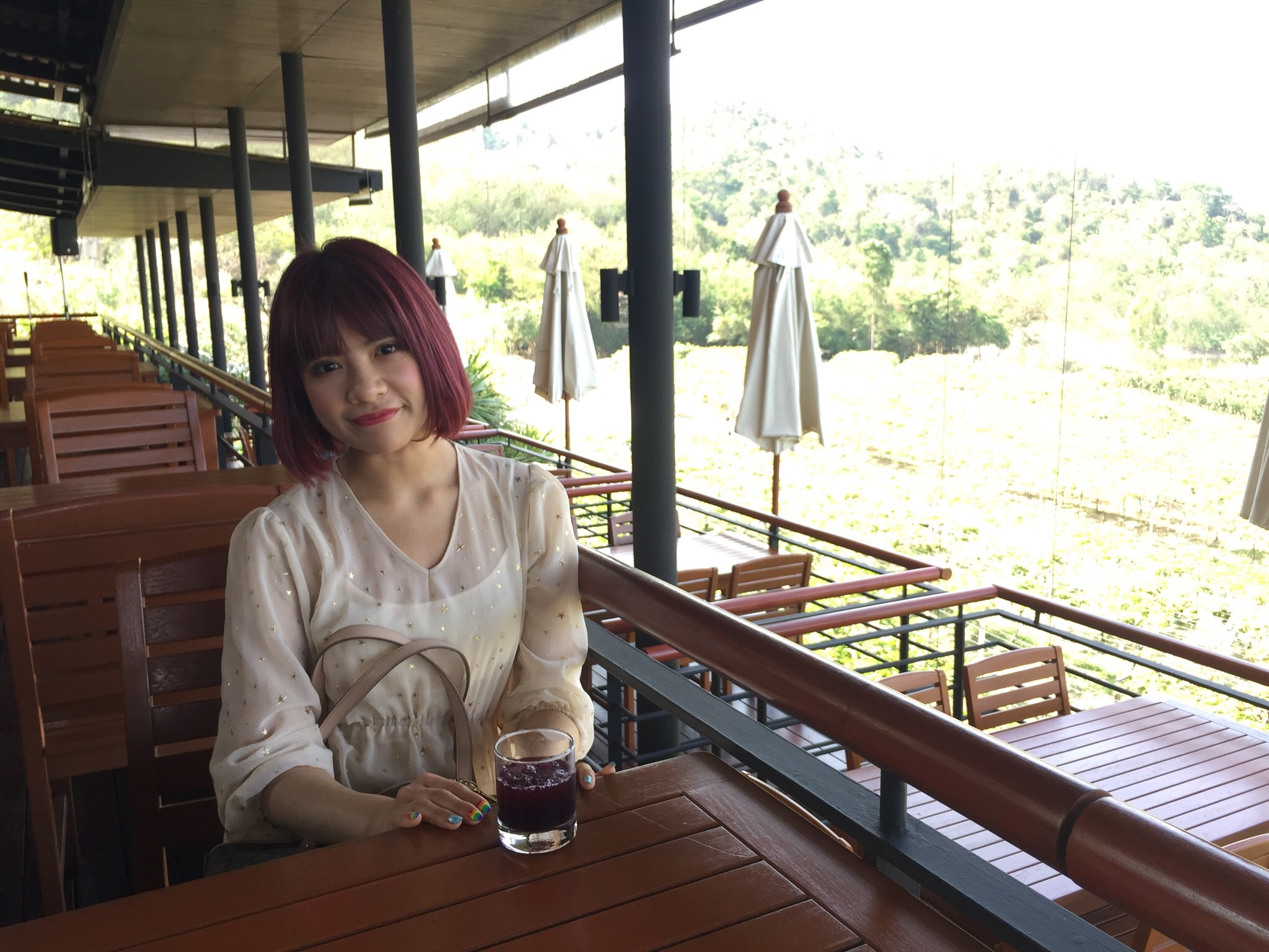 THAI LOVE 美人 タイ取材ツアーReport1 SIAM winery Monsoon Valley