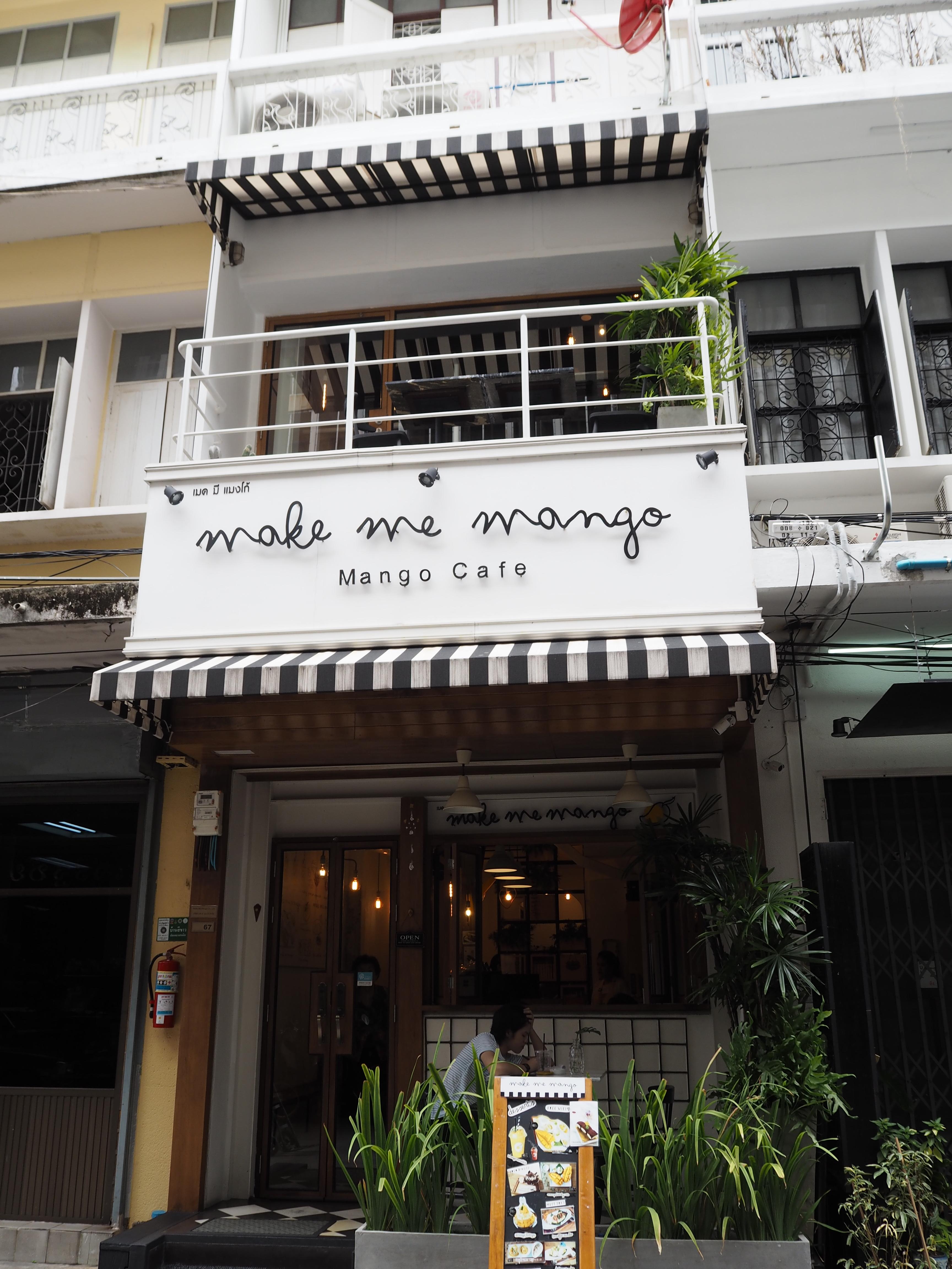 """新しいMangoの聖地になるかも? """"Make Me Mango"""""""