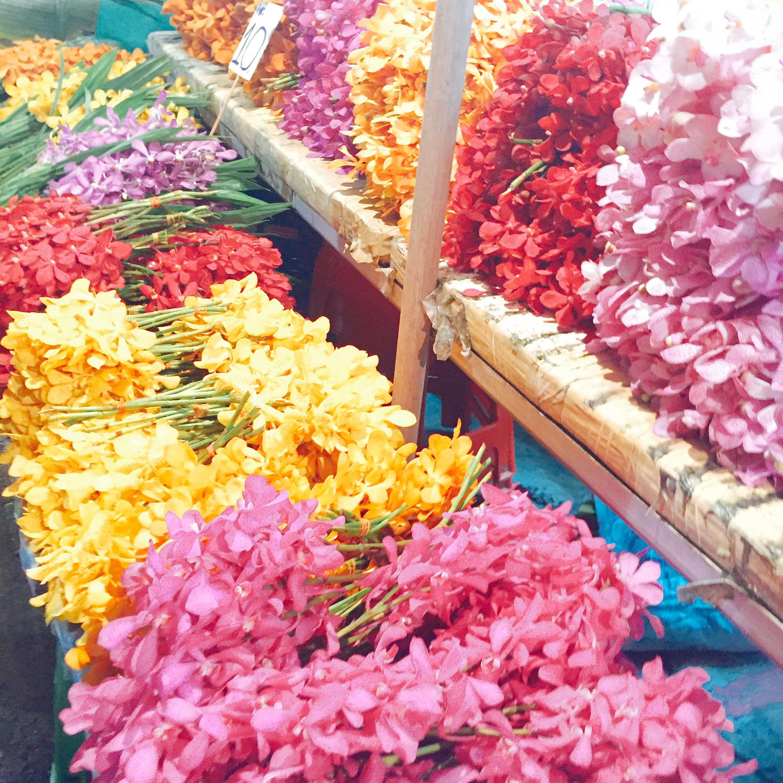 お花パラダイス♡24時間営業のパーククローン花市場