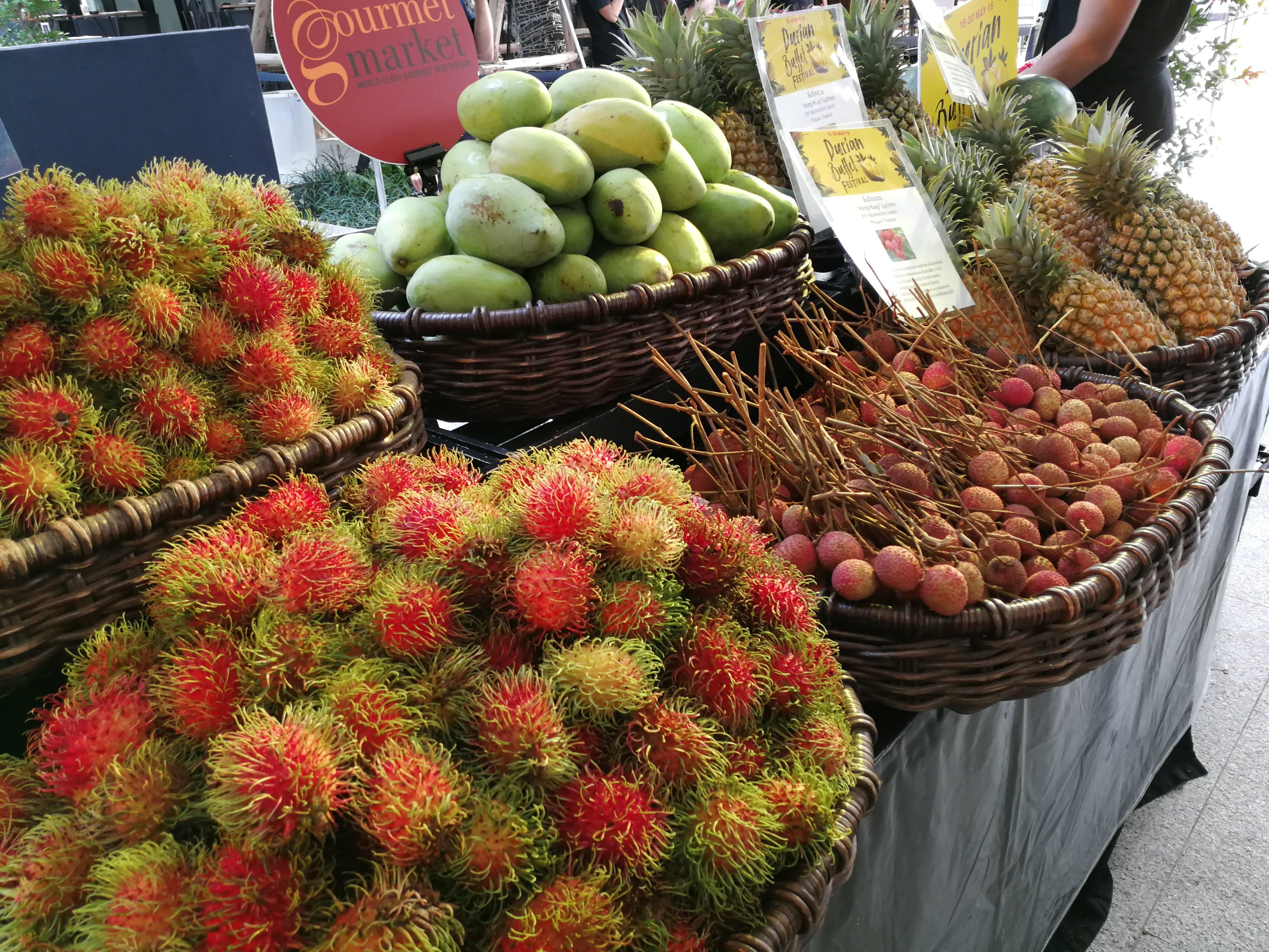 雨季でも美味しい、タイのおススメフルーツ5選