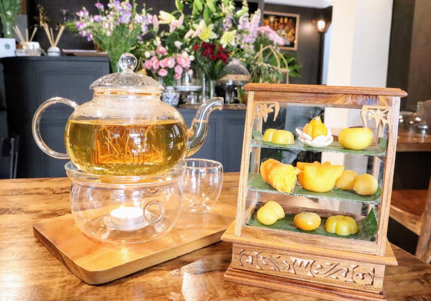 かわいいタイ伝統菓子のカフェCher Cheeva(チアチーバ)