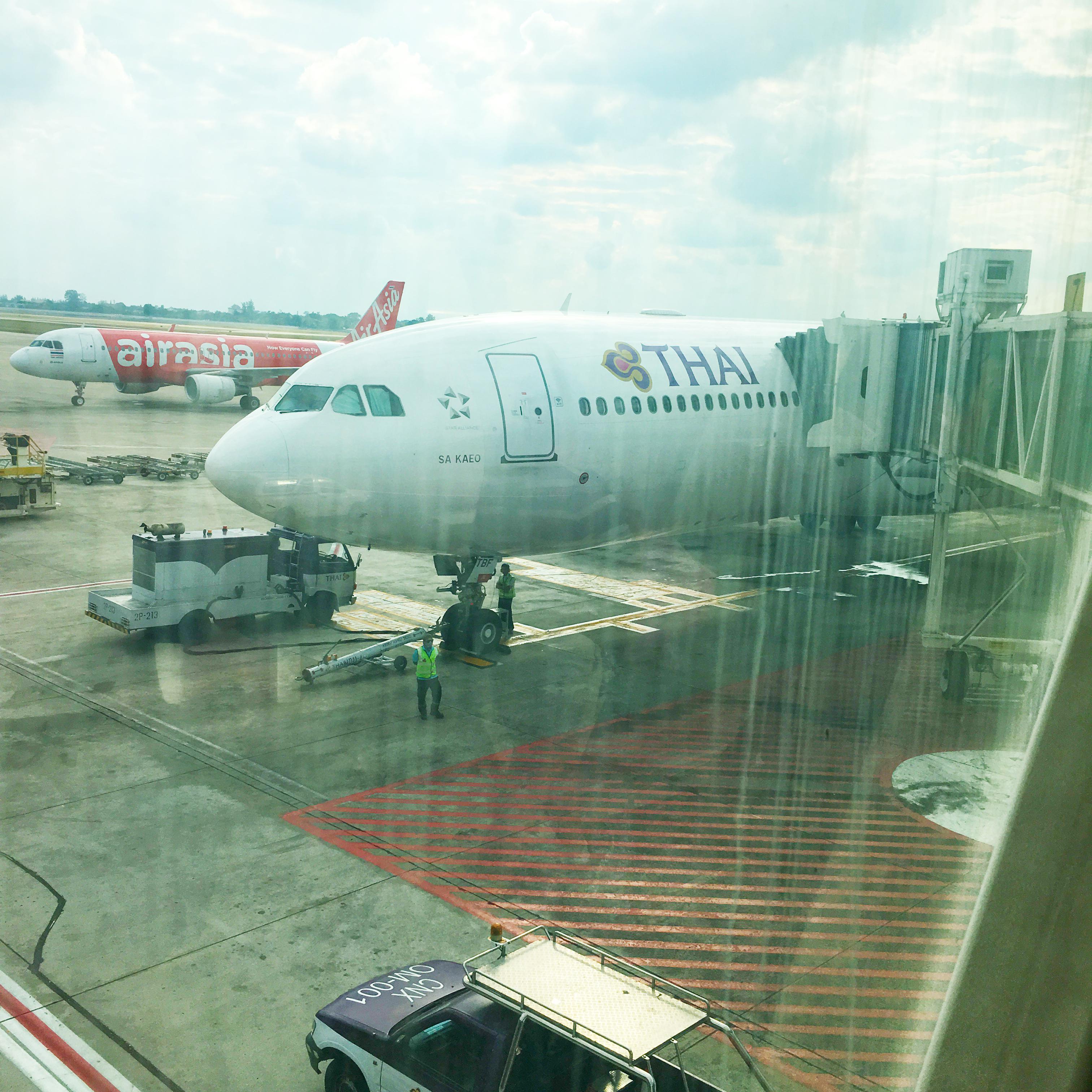 【タイ滞在3日目④】チェンマイからバンコクへタイ航空でひとっとび!