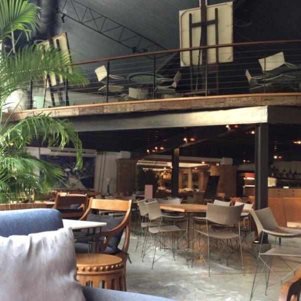 バンコクのカフェ