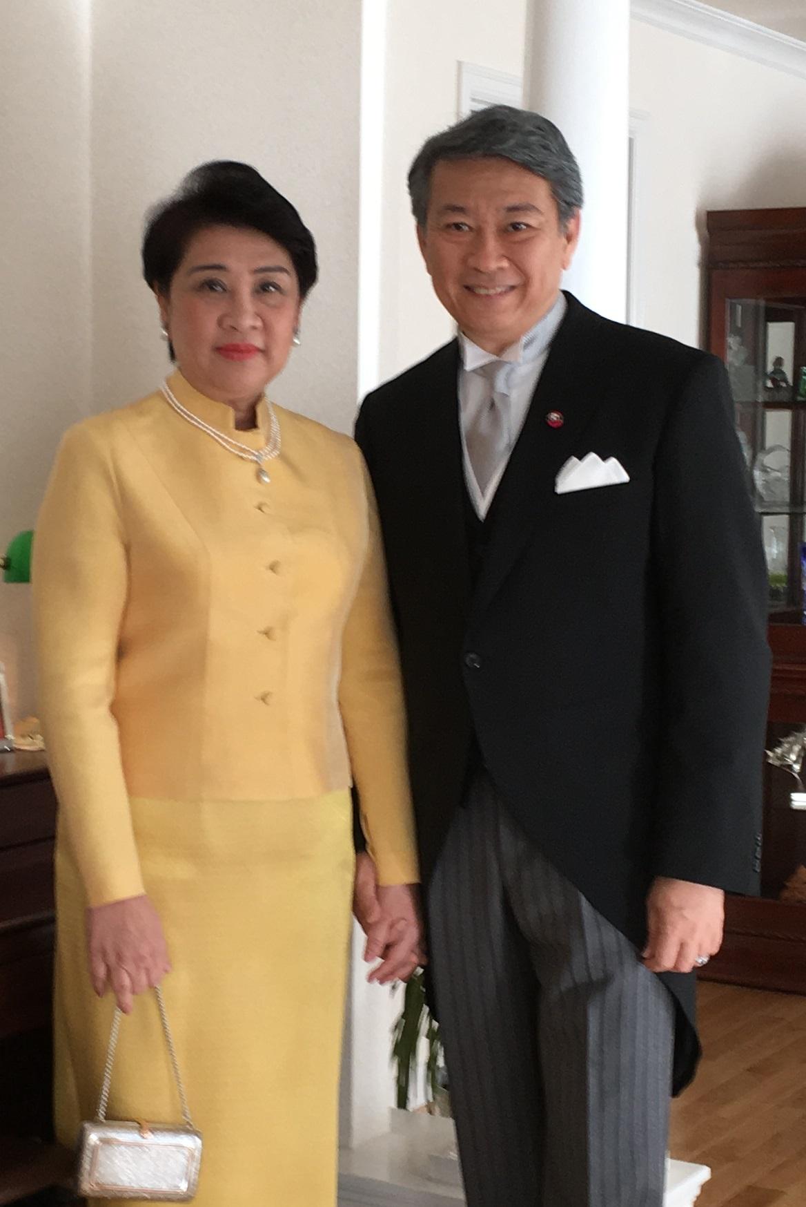 駐日タイ王国特命全権大使 バンサーン・ブンナーク閣下よりメッセージをいただきました