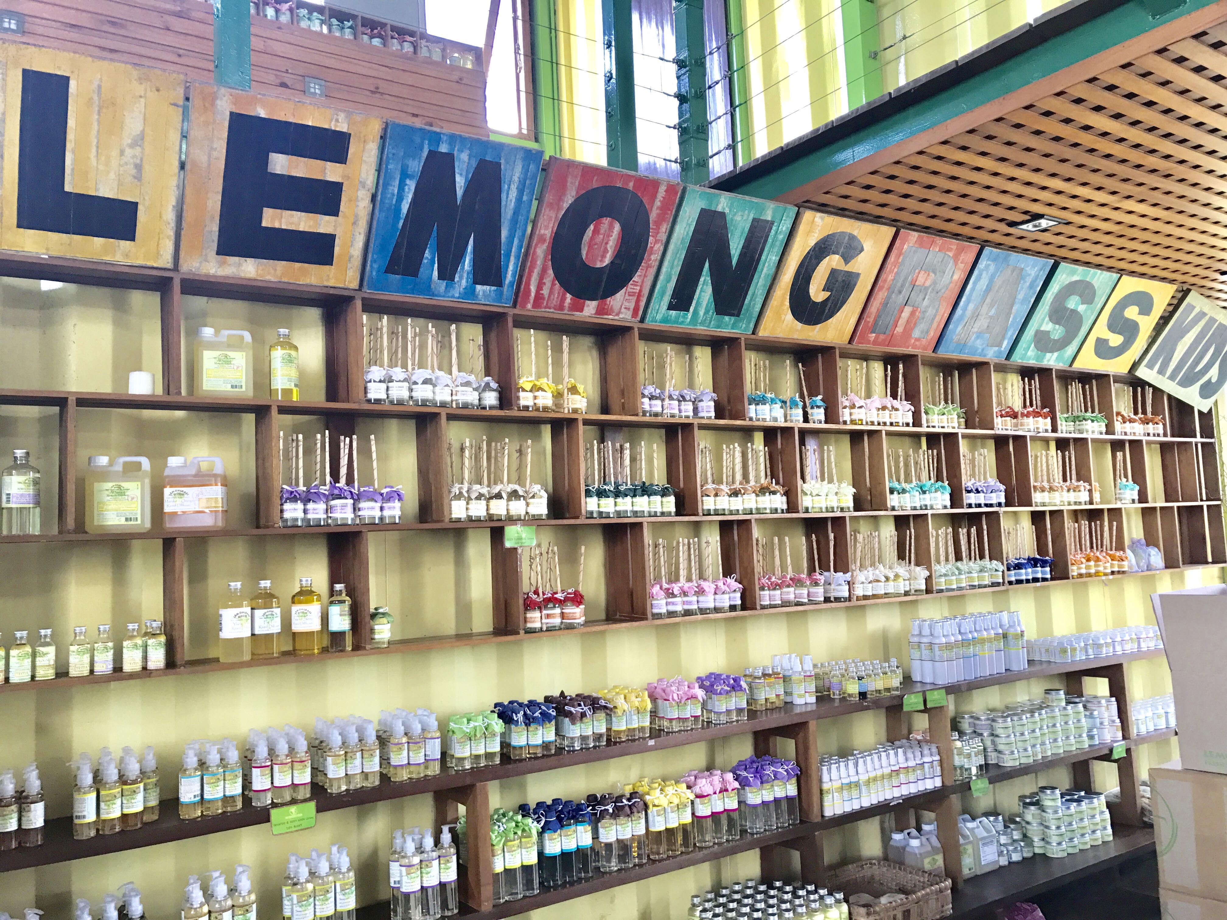 オーガニックアロマ店 レモングラスハウス