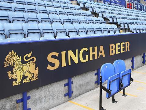 レスター Exclusive Singha Beer Partnership