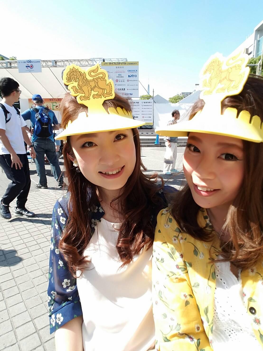 名古屋タイフェスティバルにて♡