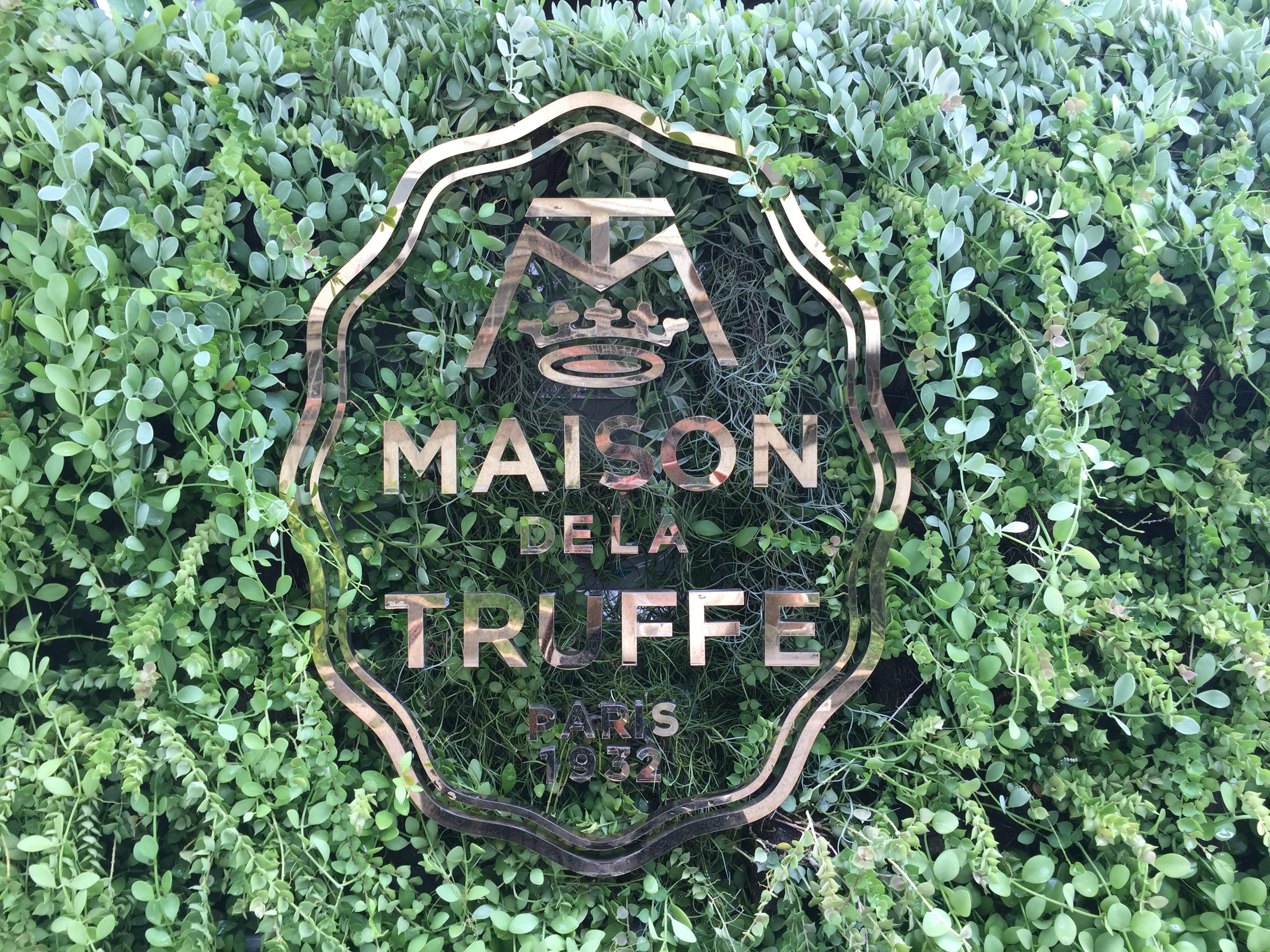 Maison de la Truffeでトリュフランチ