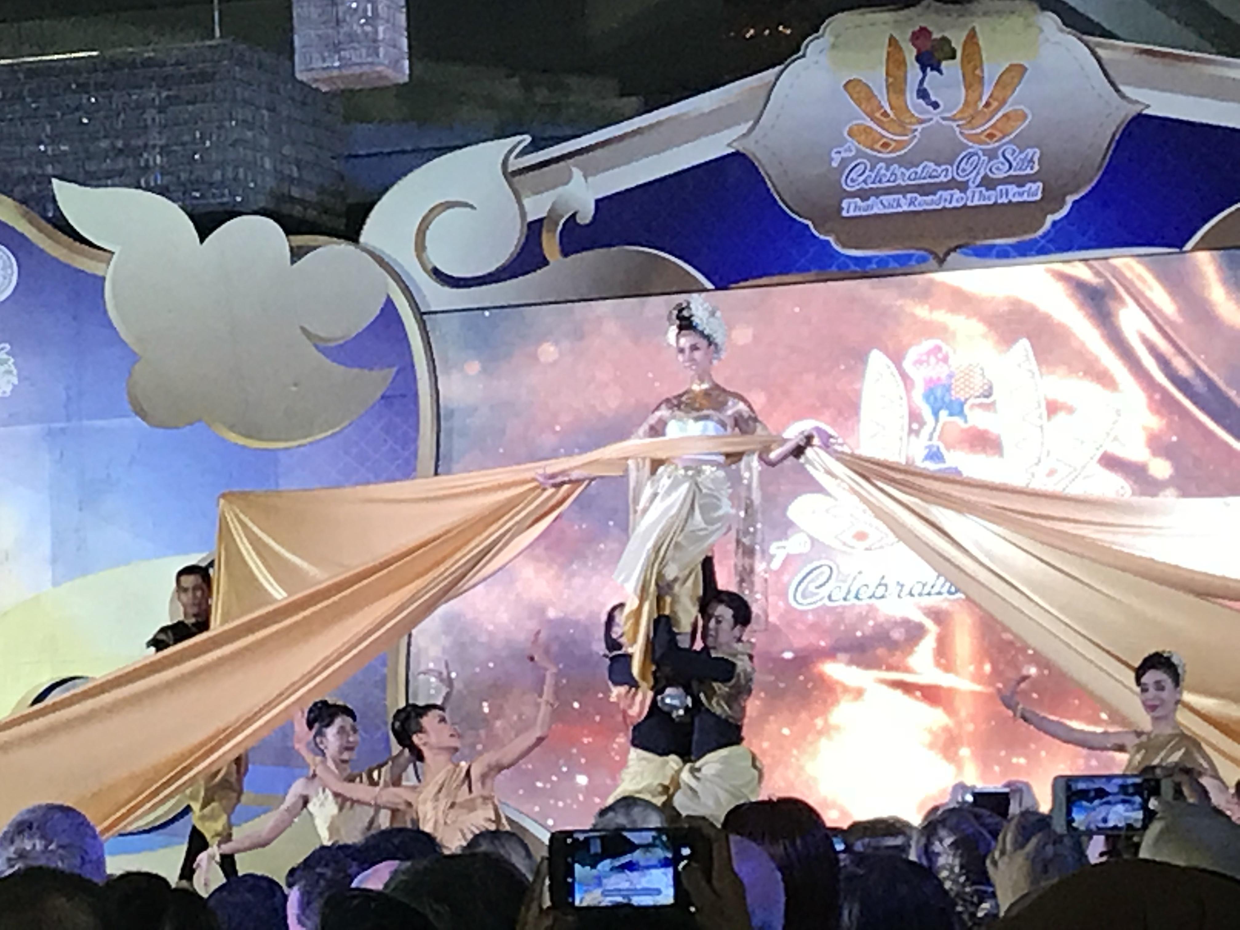 7th Celebration of Silk, fashion show&reception partyへ!