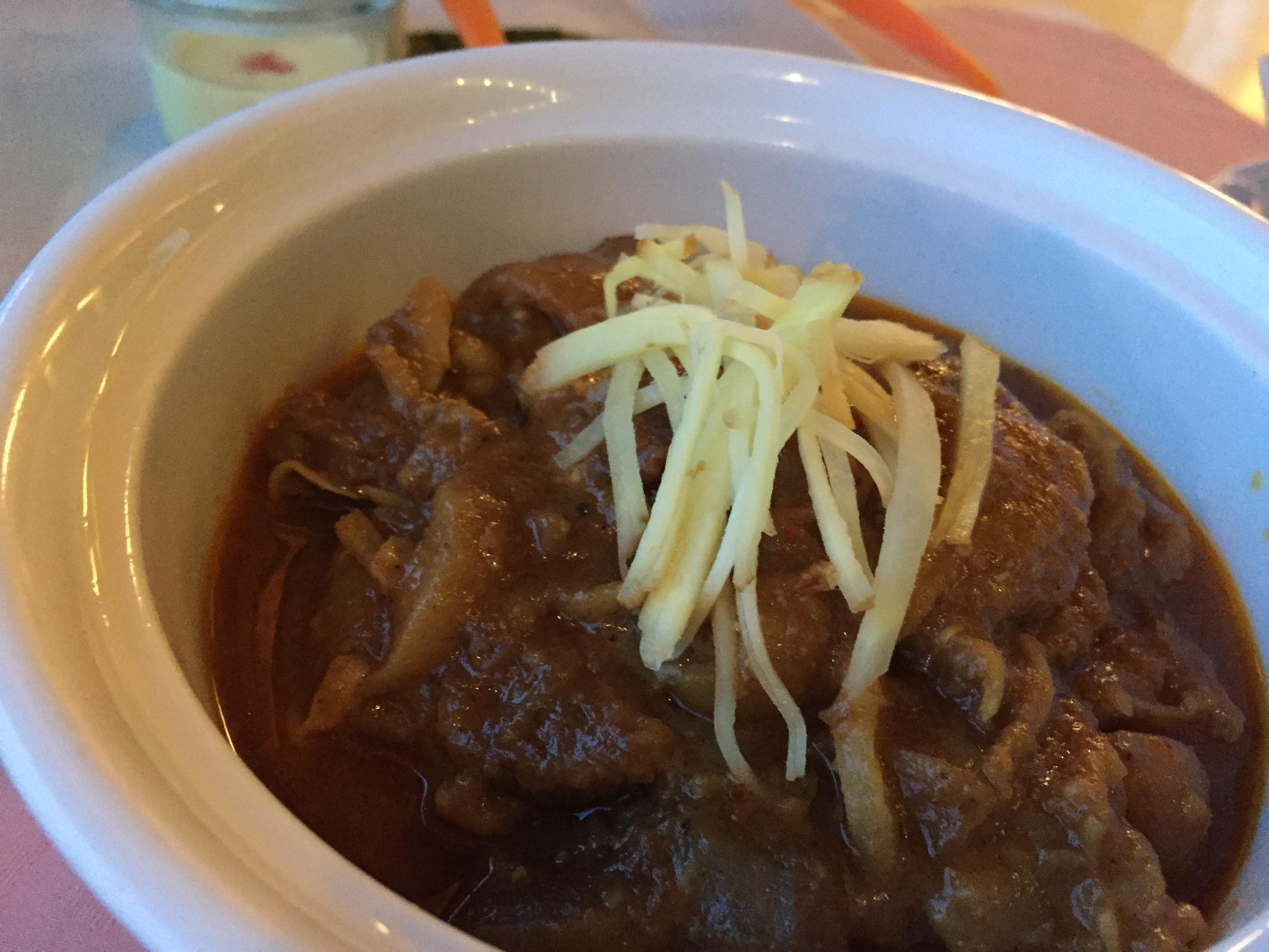 世界で最も美味な料理ランキング50 No1に選ばれた、タイのマッサマンカレー