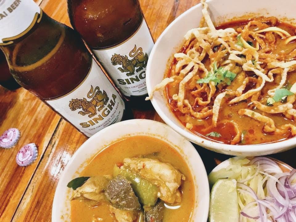 【バンコクで食べられるカオソーイの人気店】Hom Duan(ホームドゥアン)@エカマイ