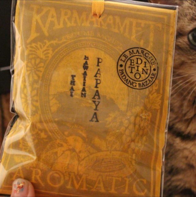 karmakamet perfume-paperbag