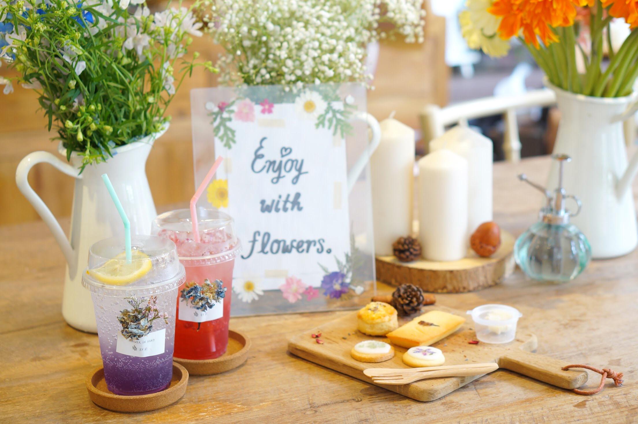 お花が可愛いカフェ&レストラン3選