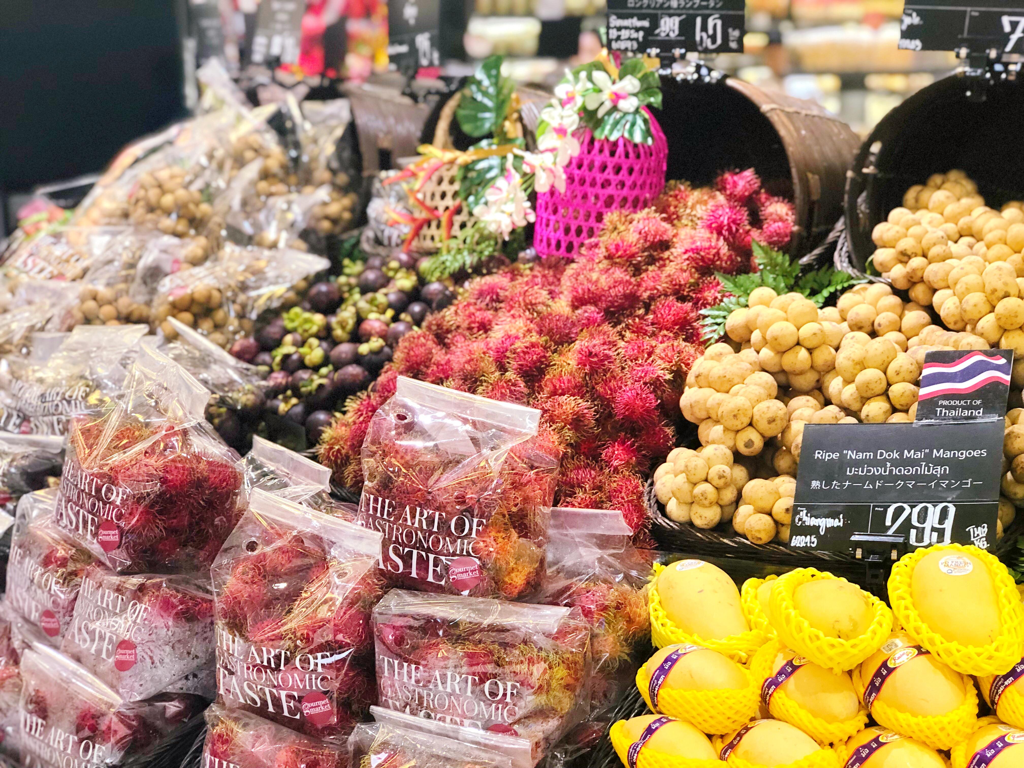 タイの果物は美容に効果抜群!美味しいフルーツでキレイになる♡
