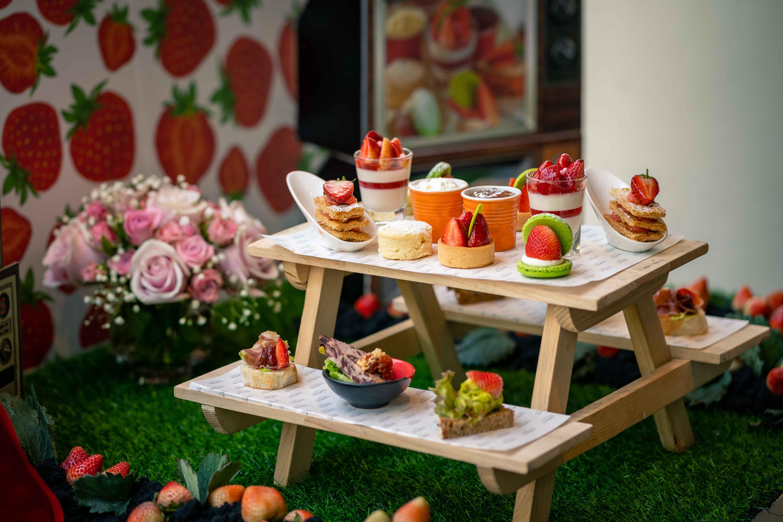 タイ北部のイチゴが旬!苺づくしのアフタヌーンティー<3月末までの限定>