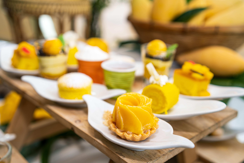 mango sticky rice tart 02
