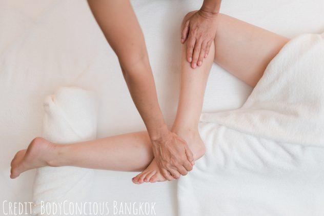 Body work at BodyConscious Bangkok